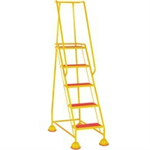 VFM 385145 5 Tread Step Yellow
