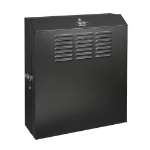 Tripp Lite SRWF5U SmartRack 5U Low-Profile Vertical-Mount Switch-Depth Wall-Mount Rack Enclosure Cabinet