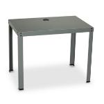 Black Box PC/Utility computer desk Gray