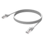 Vision Cat6 UTP, 3m 3m Cat6 U/UTP (UTP) White networking cable