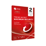 TREND MICRO Maximum Security (1-2 Devices) 1 Year Multi-Device (No CD Media)