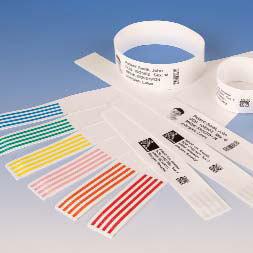 Zebra 10005007 etiqueta de impresora Blanco