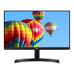 "LG 22MK600M-B LED display 54.6 cm (21.5"") 1920 x 1080 pixels Full HD Black"