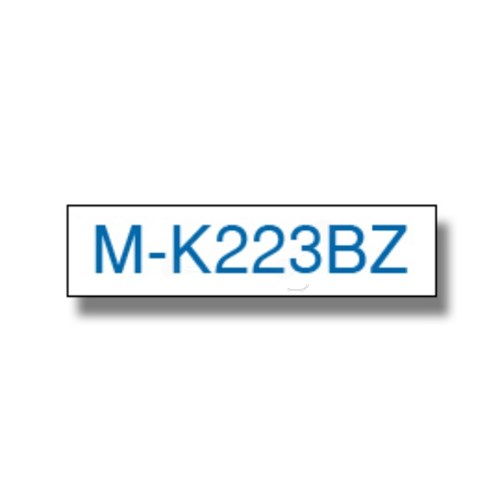 Brother MK-223BZ P-Touch Ribbon, 9mm x 8m