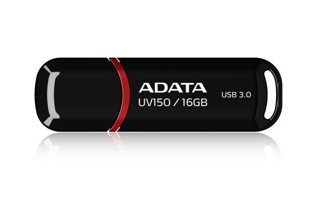 ADATA 16GB DashDrive UV150 16GB USB 3.0 (3.1 Gen 1) Type-A Black USB flash drive