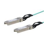 StarTech.com Cisco SFP-10G-AOC5M Compatible 5m/16.4ft 10G SFP+ to SFP+ AOC Cable - 10GbE SFP+ Active Optical Fiber - 10Gbps SFP Plus/Mini GBIC/Transceiver Module Cable - Firepower ASR1000
