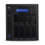 Western Digital My Cloud EX4100 24TB NAS Desktop Ethernet LAN Zwart