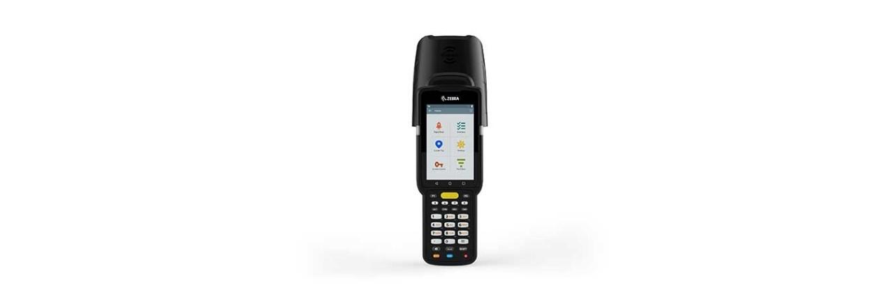 "Zebra MC3390R handheld mobile computer 10.2 cm (4"") 800 x 480 pixels Touchscreen 740 g Black"