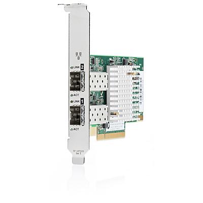 Hewlett Packard Enterprise 10Gb 2x 571SFP+ Internal Fiber 10000Mbit/s networking card