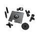 APC Surface Mounting Brackets for NetBotz Room Monitor Appliance/Camera Pod Negro
