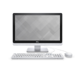 "DELL Inspiron 3263 2.1GHz 4405U 21.5"" 1920 x 1080pixels Touchscreen Black,White All-in-One PC"