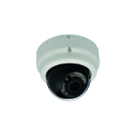 LevelOne Fixed Dome Network Camera, 3-Megapixel, PoE 802.3af, Day & Night, IR LEDs