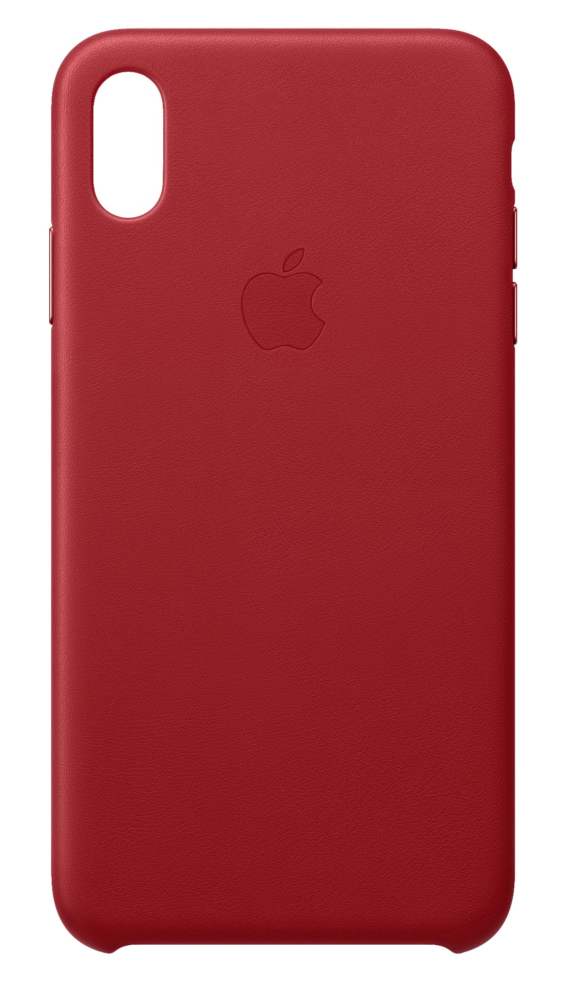 iPhone Xs Max - Leather Case - Red