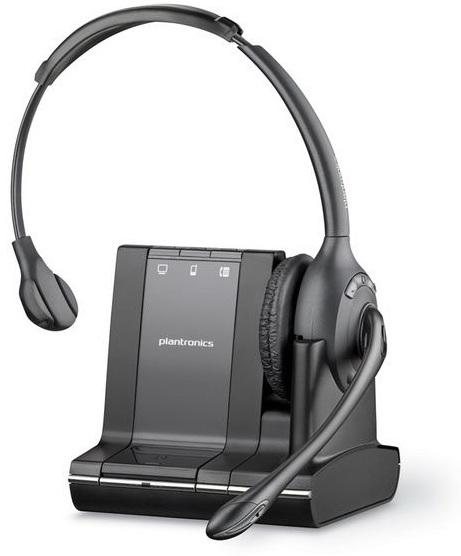 Plantronics Savi W710 Monaural Head-band Black headset