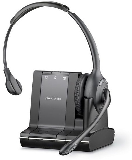 Plantronics Savi W710 Monaural Head-band Black headset