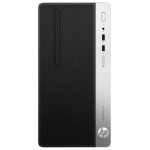 HP ProDesk 400 G6 9th gen Intel® Core™ i7 i7-9700 8 GB DDR4-SDRAM 256 GB SSD Black Micro Tower PC