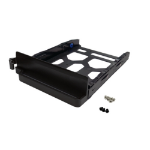 QNAP TRAY-35-NK-BLK04 drive bay panel Storage drive tray Black