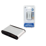 LogiLink Cardreader USB 2.0 external Alu card reader