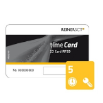 Reiner SCT timeCard Chipkarten 5 (DES) Contactless smart card