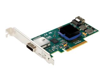 ExpressSAS H644 6-gigabit Sas/SATA - Internal 4-port/external 4-port Host Adapter