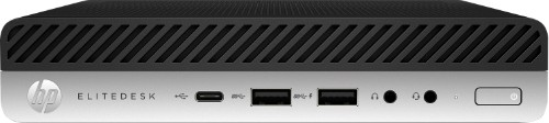 HP EliteDesk 800 G4 8th gen Intel® Core™ i7 i7-8700 16 GB DDR4-SDRAM 1024 GB SSD Black,Silver Mini PC