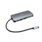 i-tec Metal USB-C Nano Dock HDMI/VGA with LAN + Power Delivery 100 W