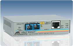 Allied Telesis AT-FS202 media converter 100Mbit/s network media converter