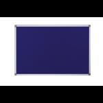 Bi-Office Maya Fire Retardant Noticebrd Blue 2400x1200mm DD
