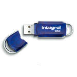 Integral Courier USB flash drive 32 GB USB Type-A 3.0 (3.1 Gen 1) Blue,Silver