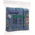 WypAll MICROFIBRE CLOTHS BLUE 8395PK6