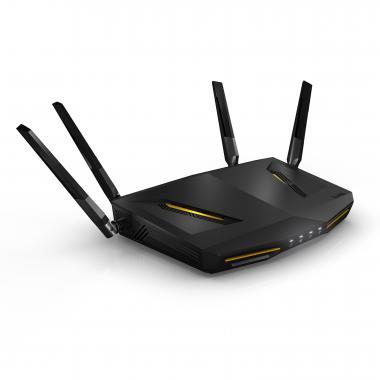 Zyxel ARMOR Z2 NBG6817 wireless router Dual-band (2.4 GHz / 5 GHz) Gigabit Ethernet Black