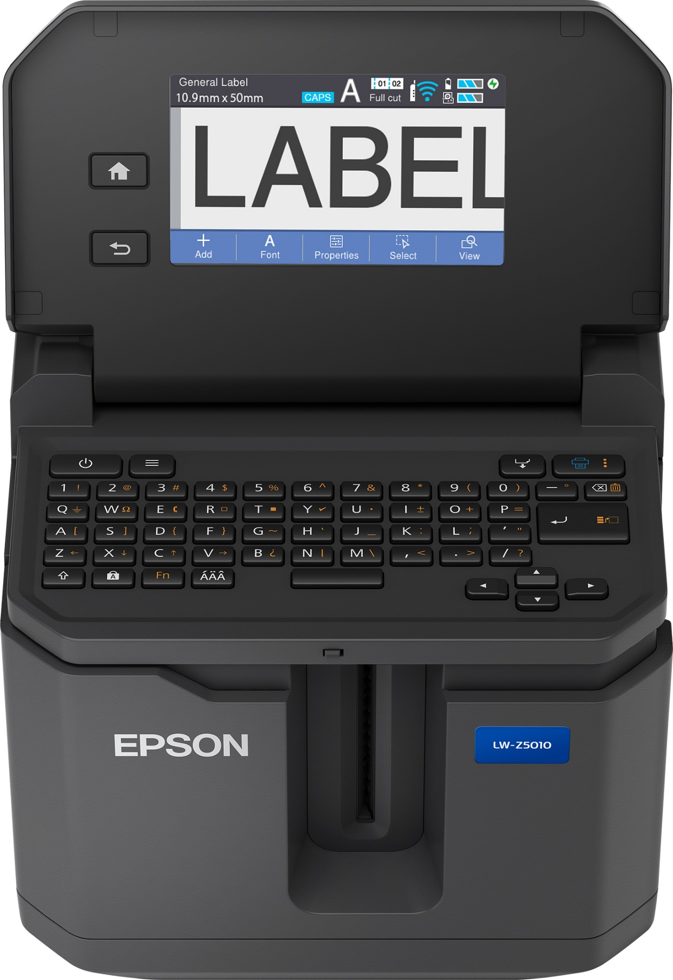 Epson LabelWorks LW-Z5010BE label printer Thermal transfer 360 x 360 DPI Wired & Wireless QWERTY