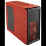 Corsair CC-9011038-WW Midi-Tower Black,Orange computer case
