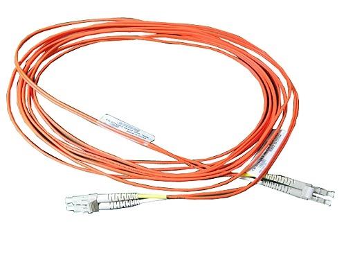 DELL 470-AAYU fibre optic cable 5 m LC Orange, White