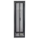 APC NetShelter SX 42U 600mm Wide x 1070mm Deep Enclosure with Sides Black Black rack