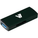 V7 Slide-In USB 3.0 Flash Drive 16GB black