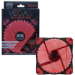 EVO LABS Vegas 120mm 1300RPM Red LED Fan