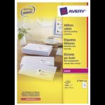 Avery L7164-250 self-adhesive label White 3000 pc(s)