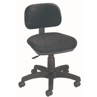 FF Jemini Gas Lift Typist Chair Charcoal