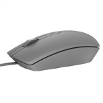 DELL MS116 USB Optical 1000DPI Ambidextrous Grey mice