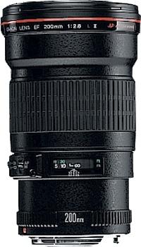 Canon EF 200mm f/2.8L II USM SLR Telephoto lens Black