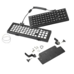 Zebra KT-KYBDAZ-VC70-04R USB AZERTY Black mobile device keyboard