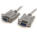StarTech.com Cable de Módem Nulo de Serie Cruzado 3m Null RS232 Serial - 2x Hembra DB9 - Gris