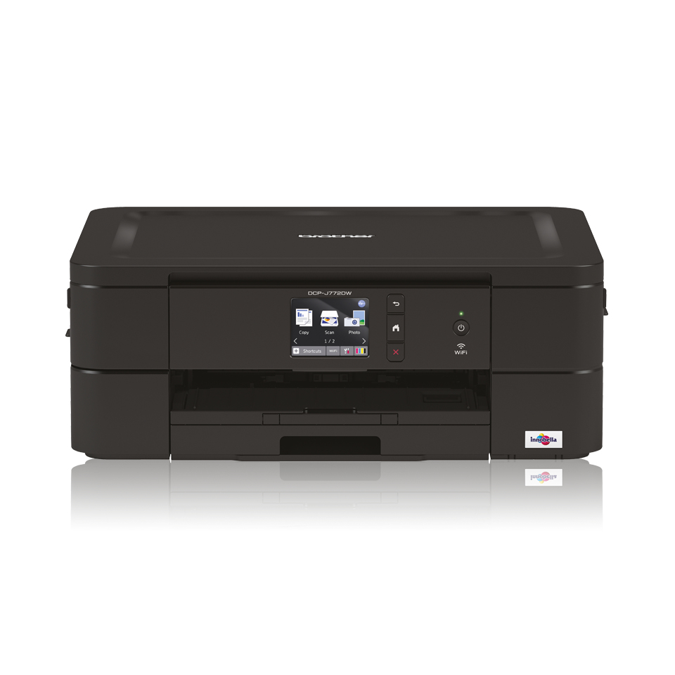 Dcp-j772dw - Colour Multi Function Printer - Inject - A4 - Wi-Fi