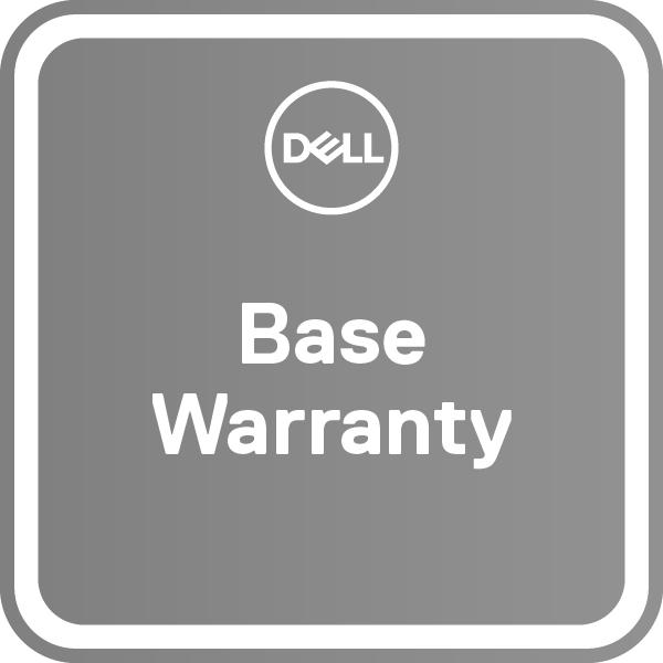 DELL 1Y Base Warranty with Collect & Return – 2Y Base Warranty with Collect & Return