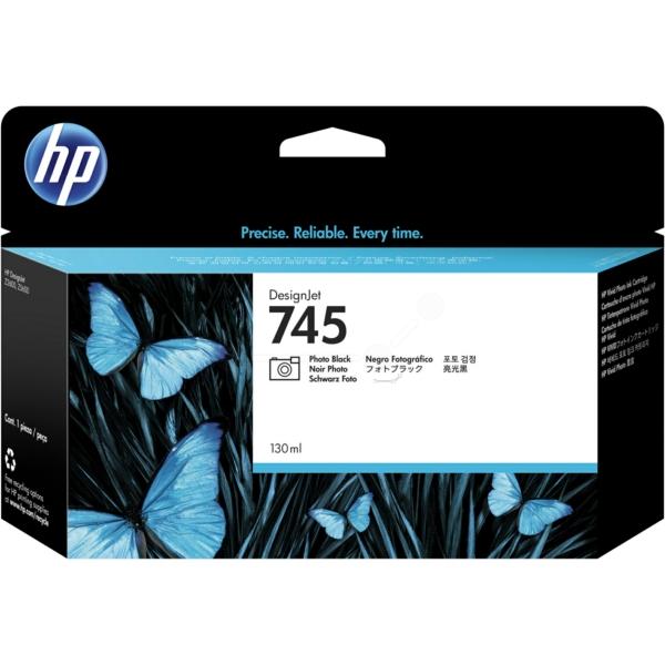 HP F9J98A (745) Ink cartridge bright black, 130ml
