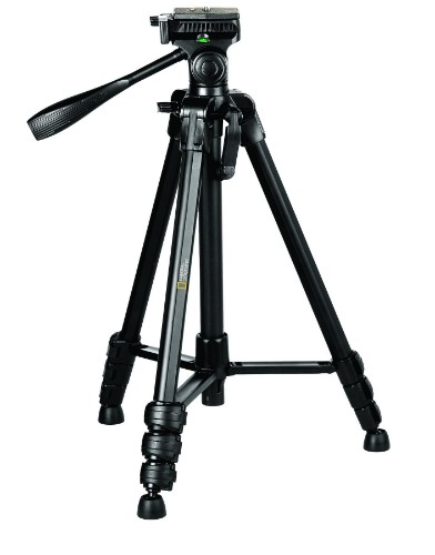 Manfrotto NGPH001 tripod Digital/film cameras 3 leg(s) Black