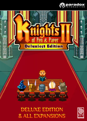 Nexway 807711 video game add-on/downloadable content (DLC) Video game downloadable content (DLC) PC/Mac/Linux Knights Pen Paper II - Deluxiest Edition Español