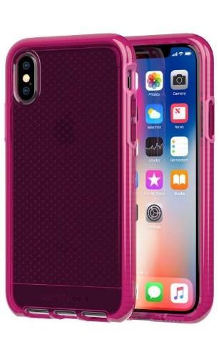 """Tech21 Evo Check mobile phone case 14.7 cm (5.8"""") Cover Fuchsia"""