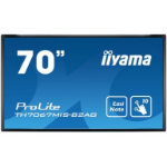 "iiyama ProLite TH7067MIS-B2AG 69.5"" 1920 x 1080pixels Multi-touch Multi-user Black touch screen monitor"